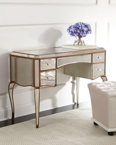 Claudia Mirrored Desk