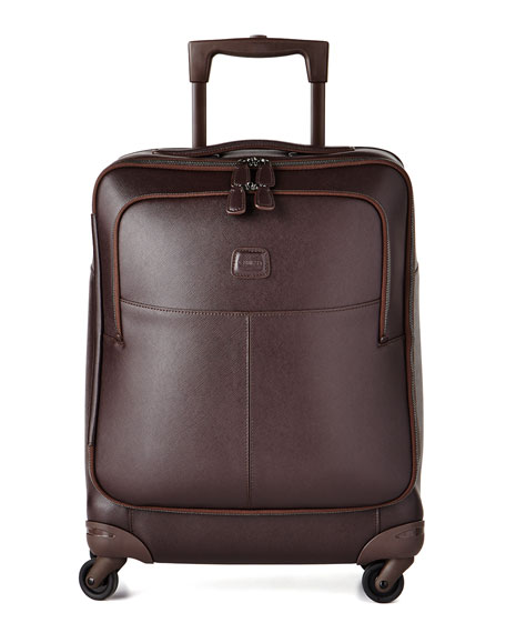 "Varese Brown 21"" Carry-On Spinner Luggage"