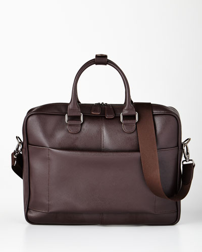 Varese Brown Briefcase