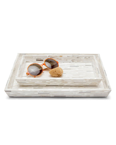 Cortona Vanity Trays, Set of 2