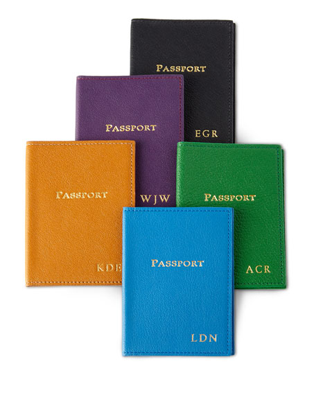 Graphic Image Passport Case, Personalized