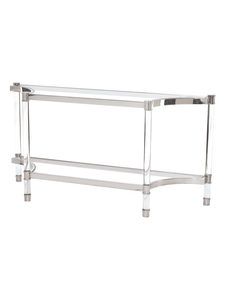 Genial Salon Stainless Steel Console Table