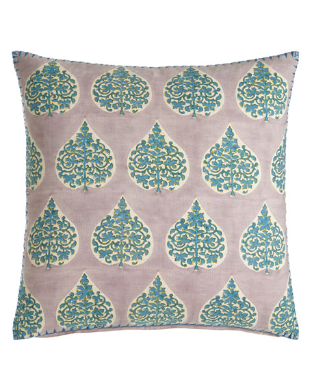 "Charua Pillow, 20""Sq."