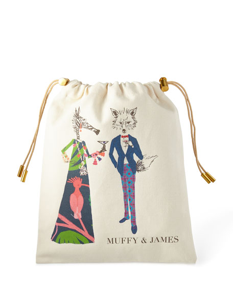 Muffy & James Personalized Charger Bag