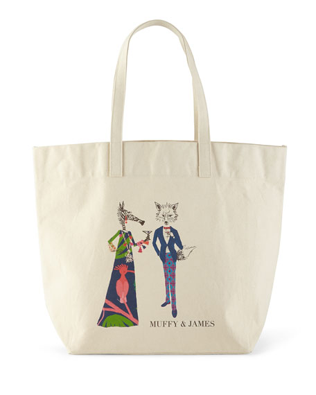 Muffy & James Personalized Big Bag
