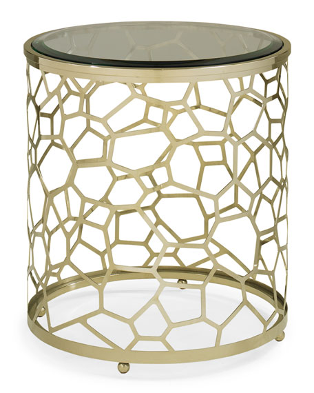 Iced Saffron Side Table