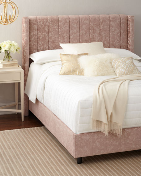 Lotus Channel-Tufted Beds