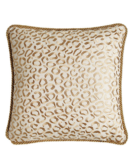 "Adeline Reversible Pillow, 20""Sq."