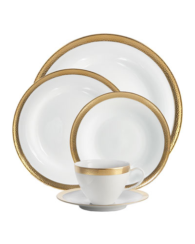 5-Piece Goldsmith Dinnerware Place Setting