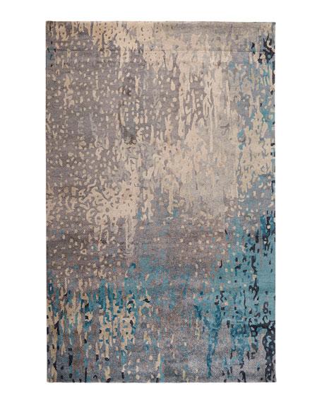 Mermaid Sea Rug, 8' x 11'