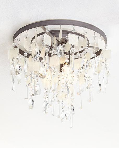 Alexandra 3-Light Semi-Flush-Mount Light