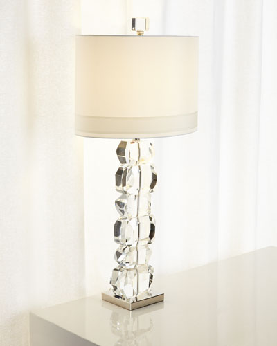 Lynx Stacked Gemstone Lamp