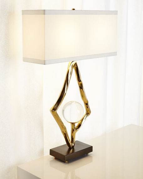 Global Views Margot Abstract Lamp