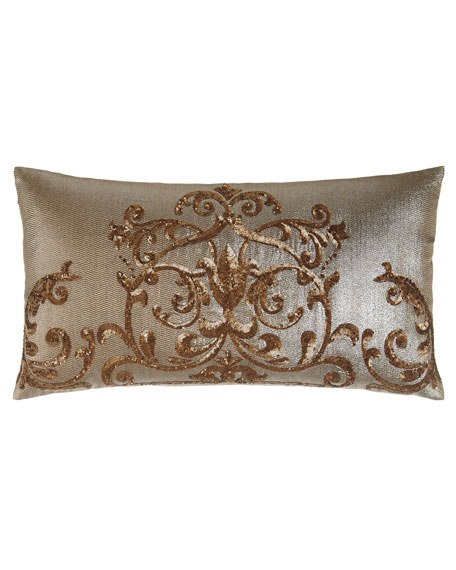 "Regalia Pillow, 14"" x 25"""