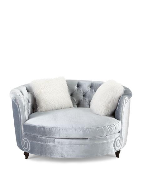 Harper Tufted Cuddle Chair