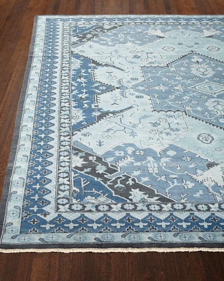 Reynolds Blue Rug, 8' x 10'