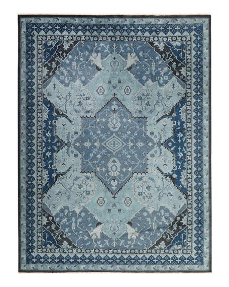 Reynolds Blue Rug, 10' x 14'