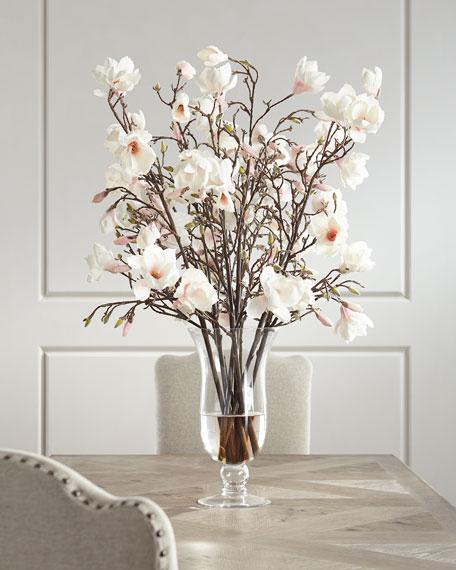 Ndi Japanese Magnolia Faux Floral Arrangement