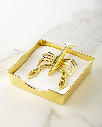 Two of a Kind Lobster Napkin Holder