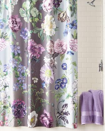 Alexandria Amethyst Shower Curtain
