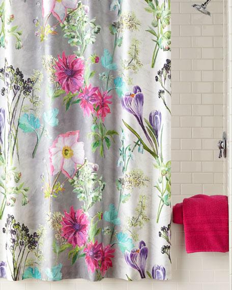 Madhuri Camellia Shower Curtain