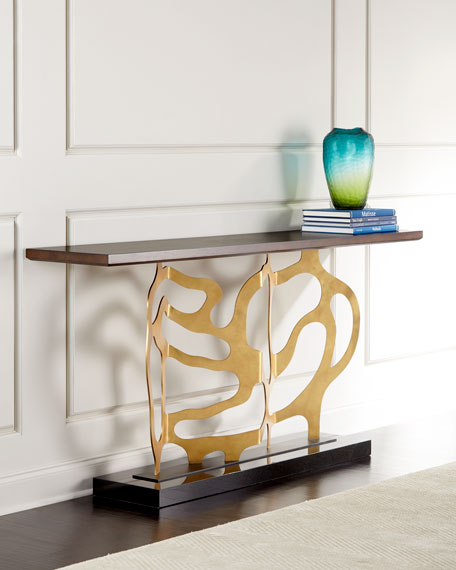 Ambella Bellwood Sculpted Console