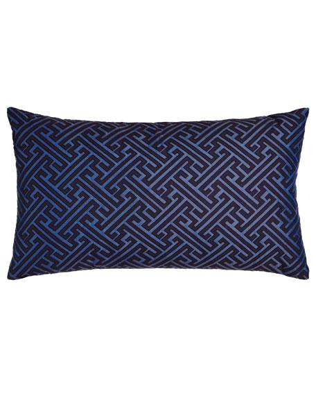 Amazed Blue Pillow