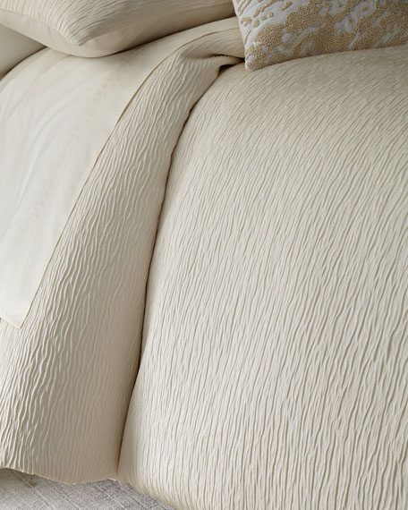 Donna Karan Home King Rhythm Duvet Cover