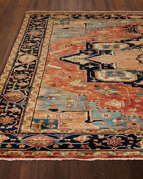 Rosso Fine Serapi Rug, 8' x 10'