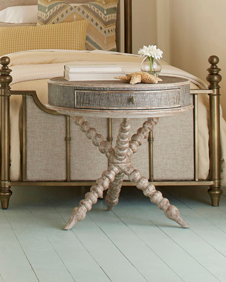 Carly Round Accent Table