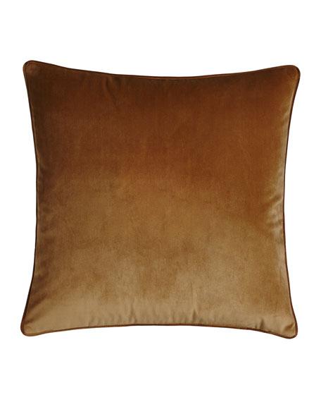 Liberty Velvet Pillow, Plain
