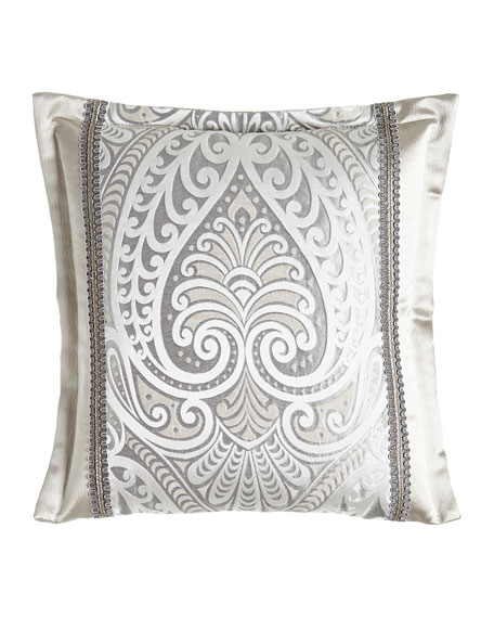 "Coppolino Pieced Pillow, 18""Sq."