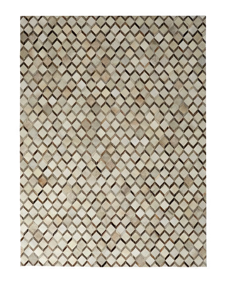 "Ziggy Hairhide Rug, 11'6"" x 14'"