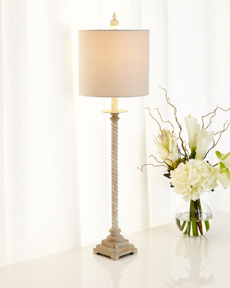 Shalimar Twist Buffet Lamp