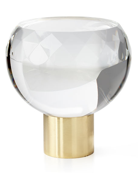 Manhattan Faceted Crystal Finial