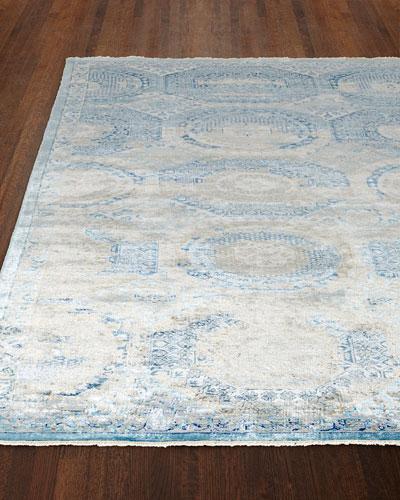 Venetian Blue Fine Rug  8' x 10'
