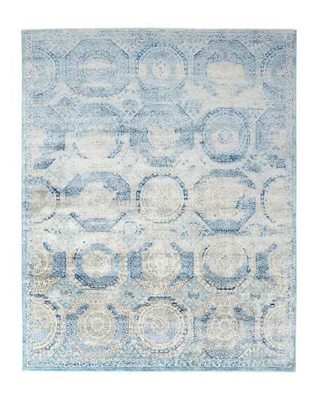 Venetian Blue Fine Rug, 10' x 14'