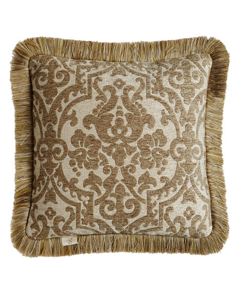 "Vermont Reversible Pillow, 20""Sq."