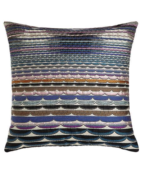 "Singapore Pillow, 24""Sq."