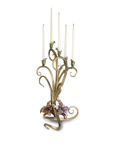 Orchid Candelabra