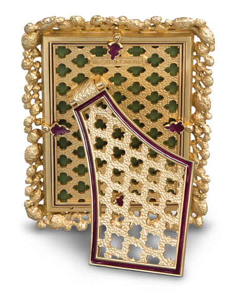"Bejeweled 4"" x 6"" Picture Frame"