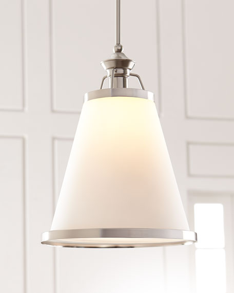 Ashmont 1-Light Nickel Pendant