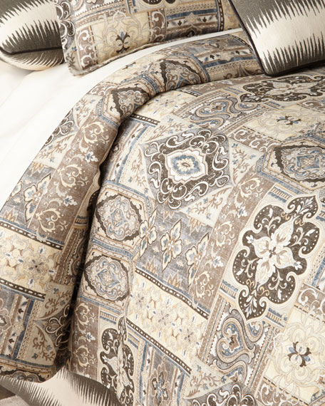 Queen Phoebe Tile Duvet Cover