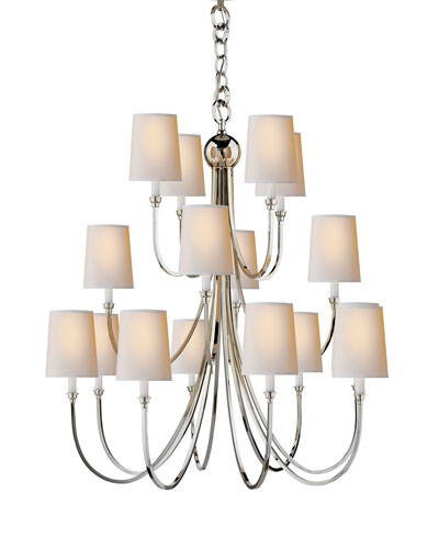 Reed Extra-Large 16-Light Chandelier