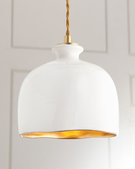 Regina Andrew Design Bianca Dome 1-Light Pendant