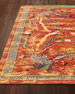 "Imperial Persimmon Rug, 5'6"" x 8'"