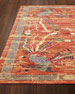 "Imperial Persimmon Rug, 7'9"" x 9'9"""