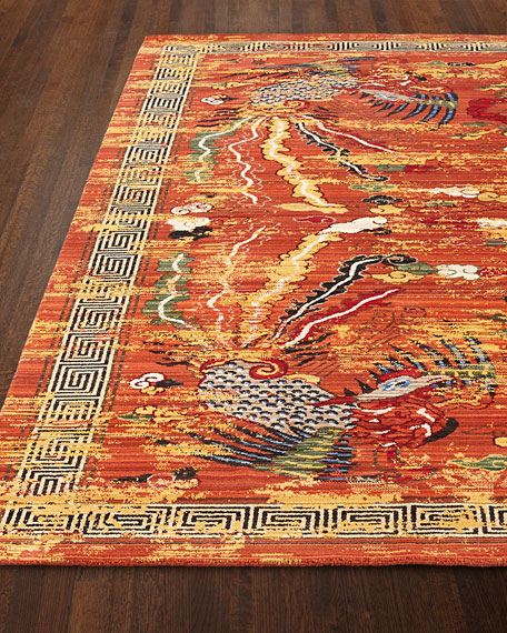 Imperial Persimmon Rug, 7'9
