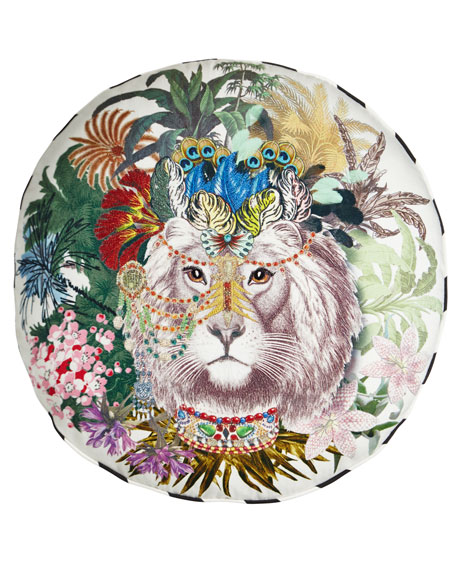 Christian Lacroix Jungle King Decorative Pillow