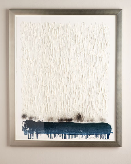 """Ombre Spray"" Giclee on Paper Wall Art"